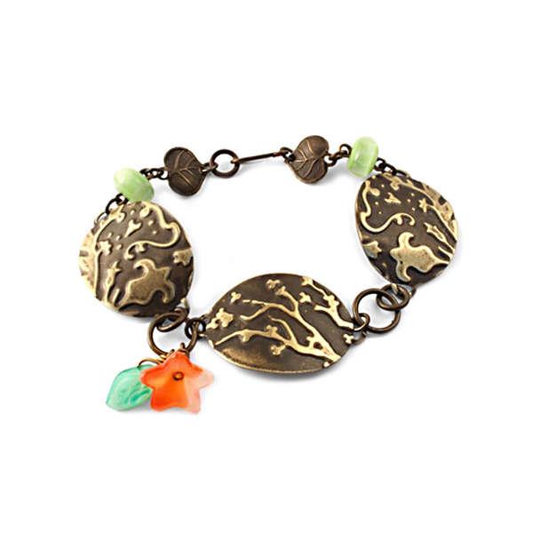 Bold Blossom Bracelet by Jess Italia Lincoln