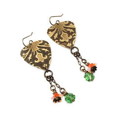 Draped Lilies Earrings by Jess Italia Lincoln