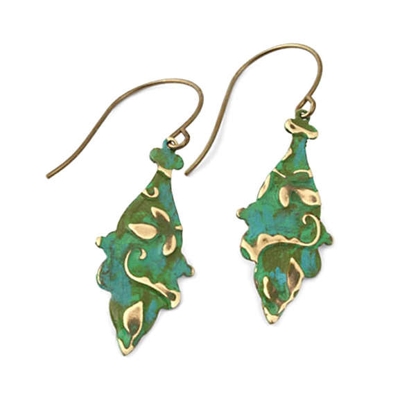 Nouveau Roses Earrings by Jess Italia Lincoln
