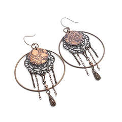 Dreamcatcher Earrings by Mackenzie Mullane
