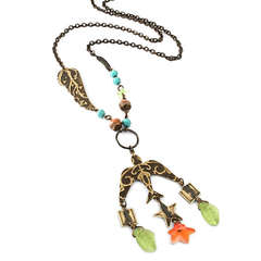 Soaring Song Necklace by Jess Italia Lincoln