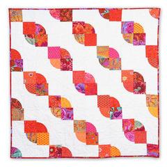 Twisted Ribbon Quilt by Linda Nitzen