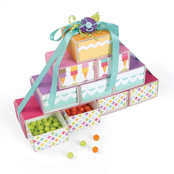Candy Drawer Tower by Cara Mariano