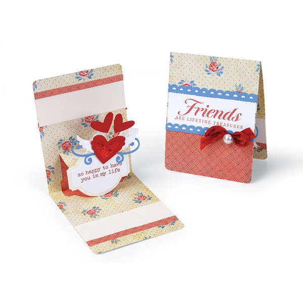 Friends are Lifeime Treasures by Beth Reames