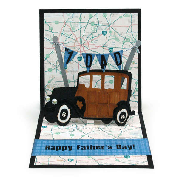 Fathers Day Card By Karen Burniston