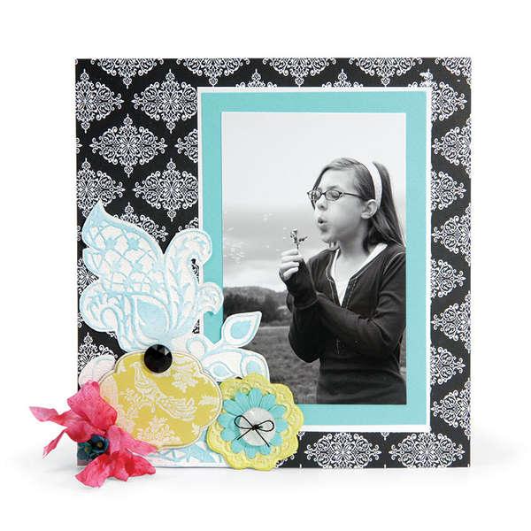 Mod Flowers Page by Deena Ziegler