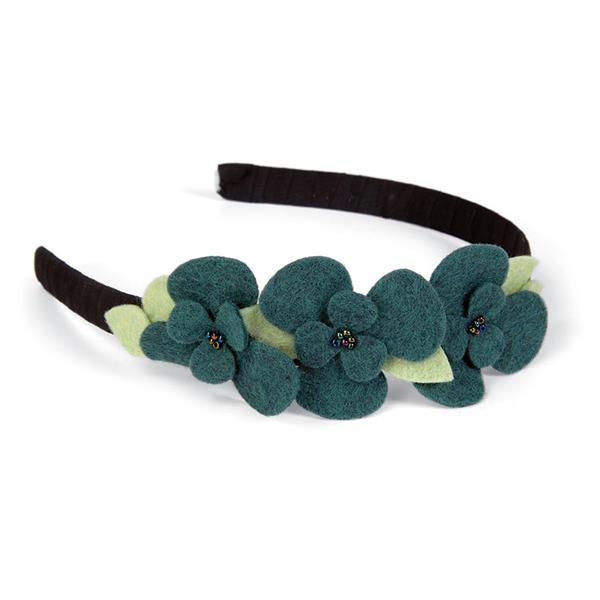 Felt Flower Headband by Beth Reames