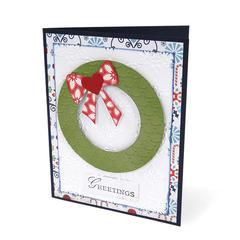 Wreath Greetings by Deena Ziegler