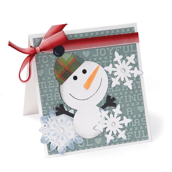 Joyful Snowman by Deena Ziegler