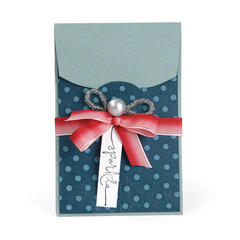 Sparkle Gift Card Holder by Deena Ziegler