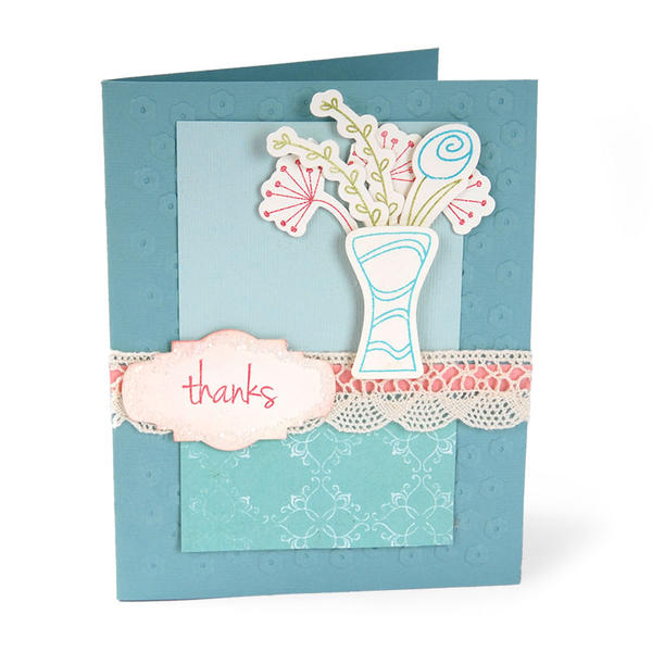 Thanks Flower Bouquet by Cara Mariano
