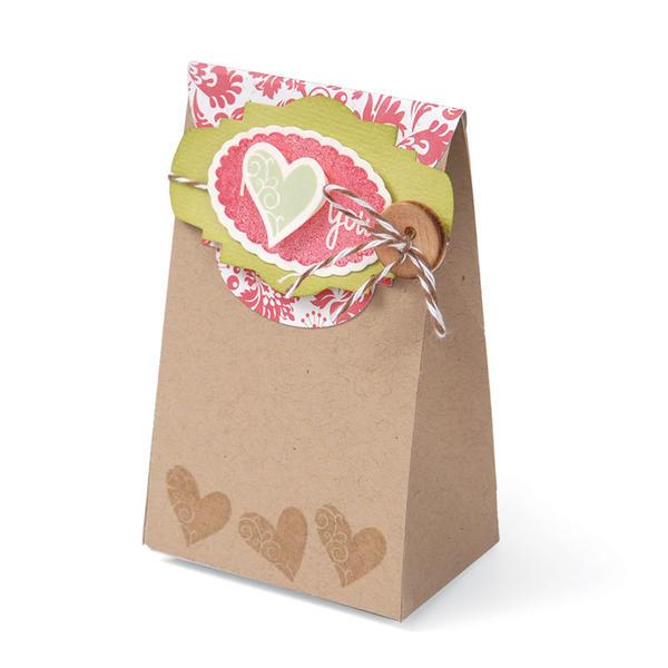 I (heart) You Treat Bag by Cara Mariano