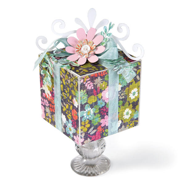 Gift Box on a Pedestal by Beth Reames