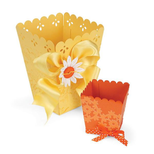 Treat Cup and Popcorn Bag by Debi Adams