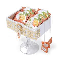 Embellished Tea Bags by Debi Adams