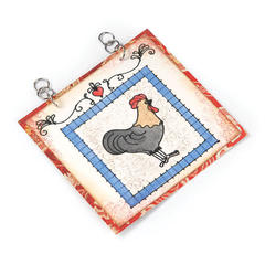 Rustic Rooster Wall Art