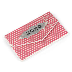 XOXO Gift Card Folder by Beth Reames