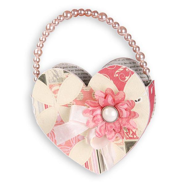 Elegant Heart Bag by Beth Reames