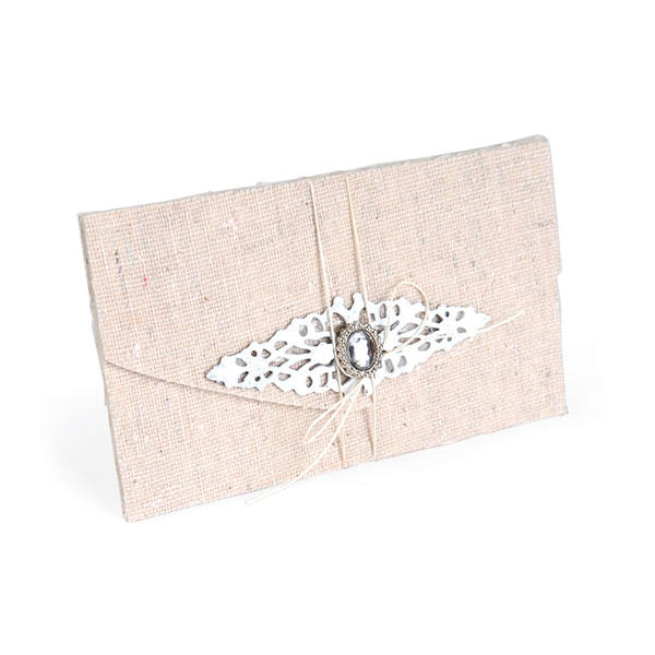 Burlap Covered Gift Card Folder by Beth Reames