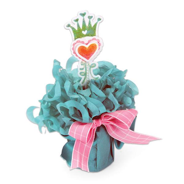 Crowned Heart Table Decor by Debi Adams