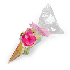 3D Flower Treat Cone by Brenda Walton