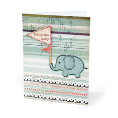Welcome Baby Card #2 by Beth Reames