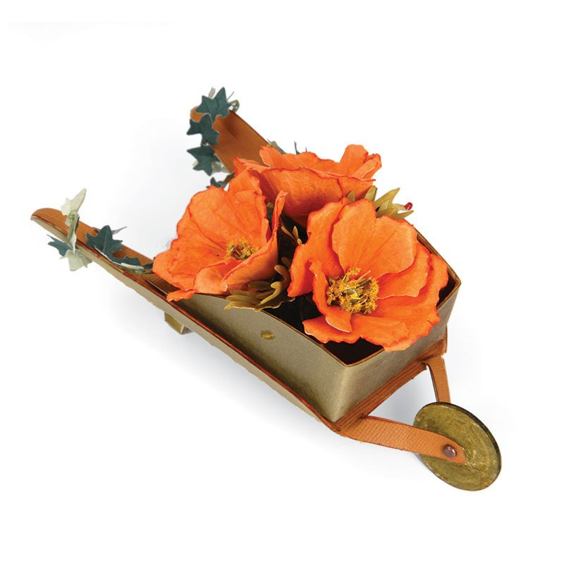 Poppies in a Wheelbarrow by Susan Tierney-Cockburn