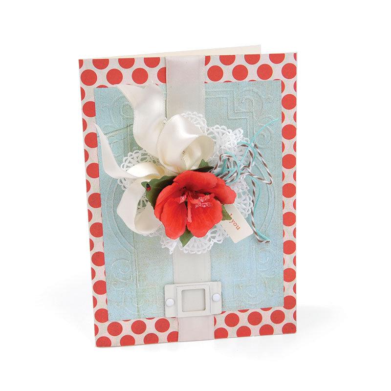 Hibiscus Card by Debi Adams