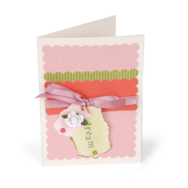 Mini Rose Dream Card by Susan Tierney-Cockburn