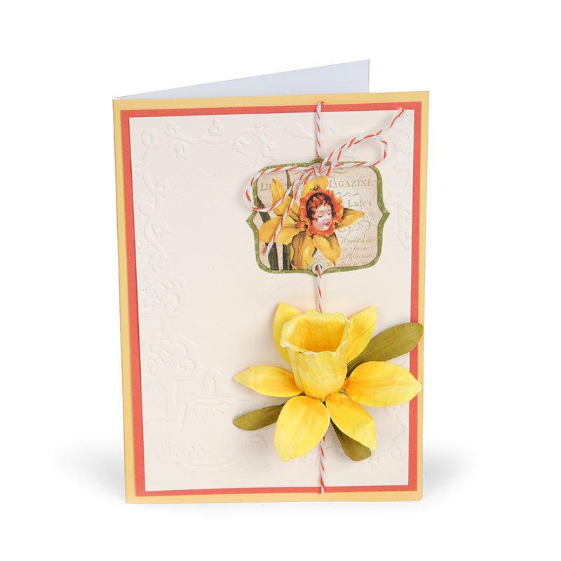 Daffodil Fairy Card by Susan Tierney-Cockburn