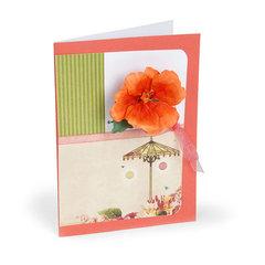 Hibiscus Card by Susan Tierney-Cockburn