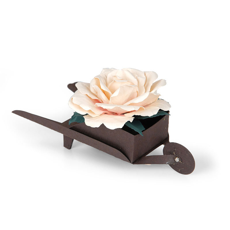Rose in Wheelbarrow by Susan Tierney-Cockburn