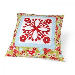 Tropical Paradise Pillow by Linda Nitzen