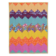 Chevron Quilt by Ronda McCord, Guest Quilter