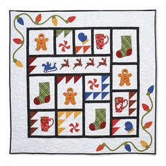 Old Fashioned Christmas Quilt by Linda Nitzen