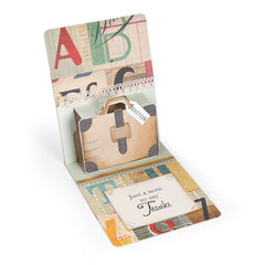 Just a Note Pop-Up Card by Deena Ziegler