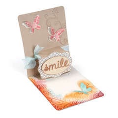 Smile Pop-Up Card by Deena Ziegler