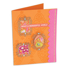 What a Wonderful World Card by Cara Mariano