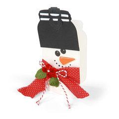 Snowman Card #2 by Debi Adams