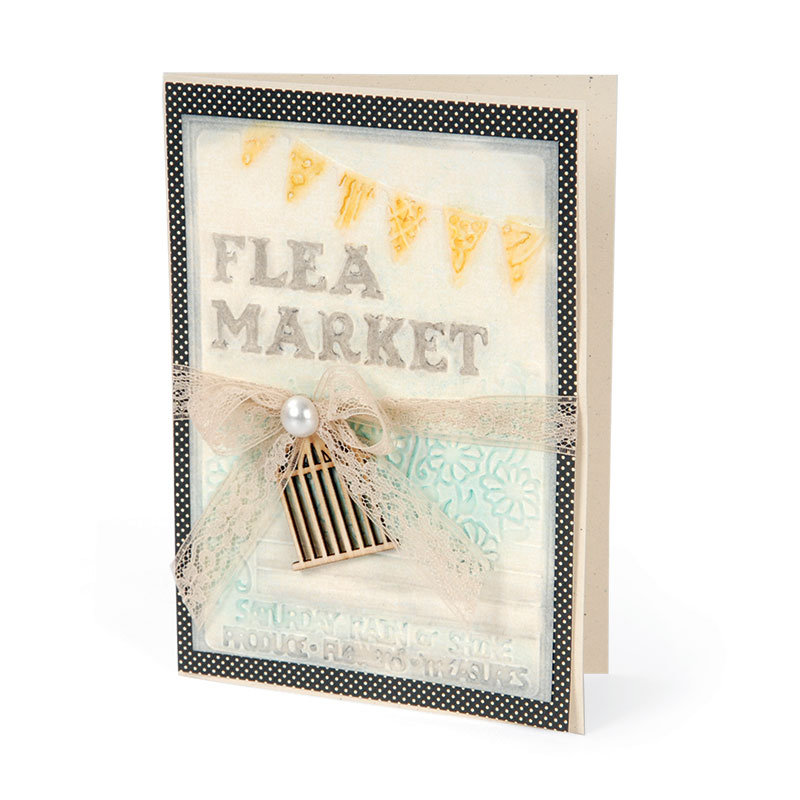 Flea Market Card by Deena Ziegler