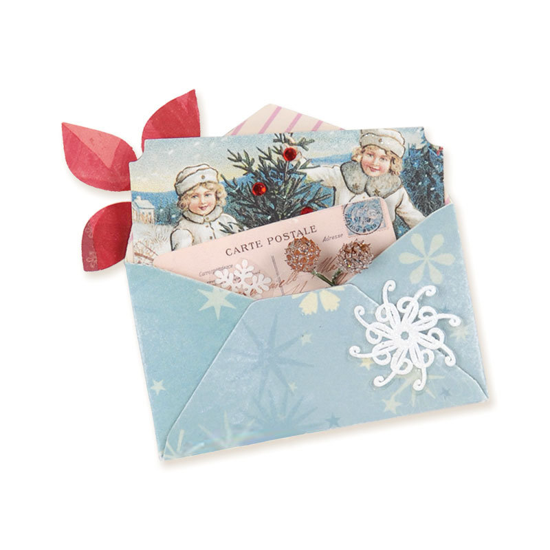 Mini Carte Postale Envelope by Brenda Walton