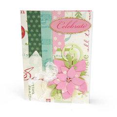 Celebrate Poinsettias Card by Brenda Walton