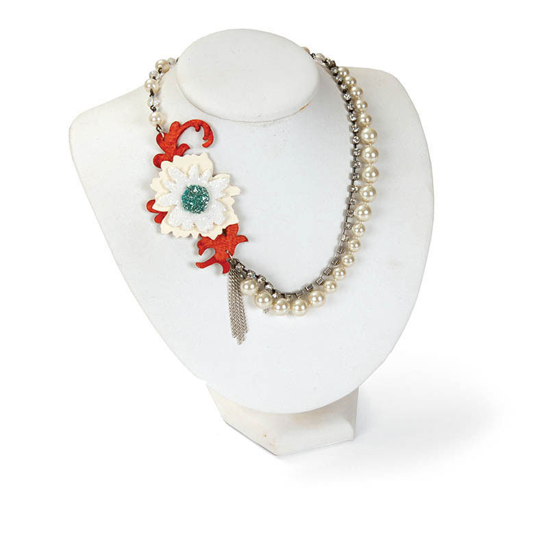 Pearls and Florals Necklace