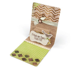 Birds of a Feather Pop Up Card