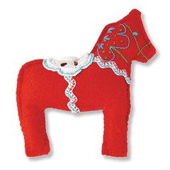 Dala Horse Stuffed Animal by Debi Adams