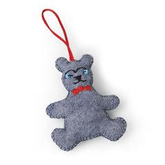 Teddy Bear Ornament by Jorli Perline