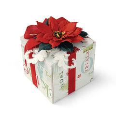 Poinsettia Gift Box by Beth Reames