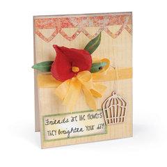 Friends are like Flowers Card by Deena Ziegler