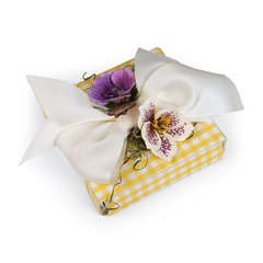 Flowers and Bows Gift Box by Deena Ziegler