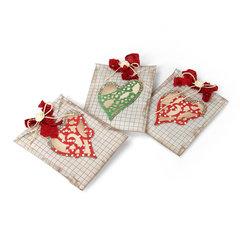 Doily Hearts Treat Bags by Deena Ziegler